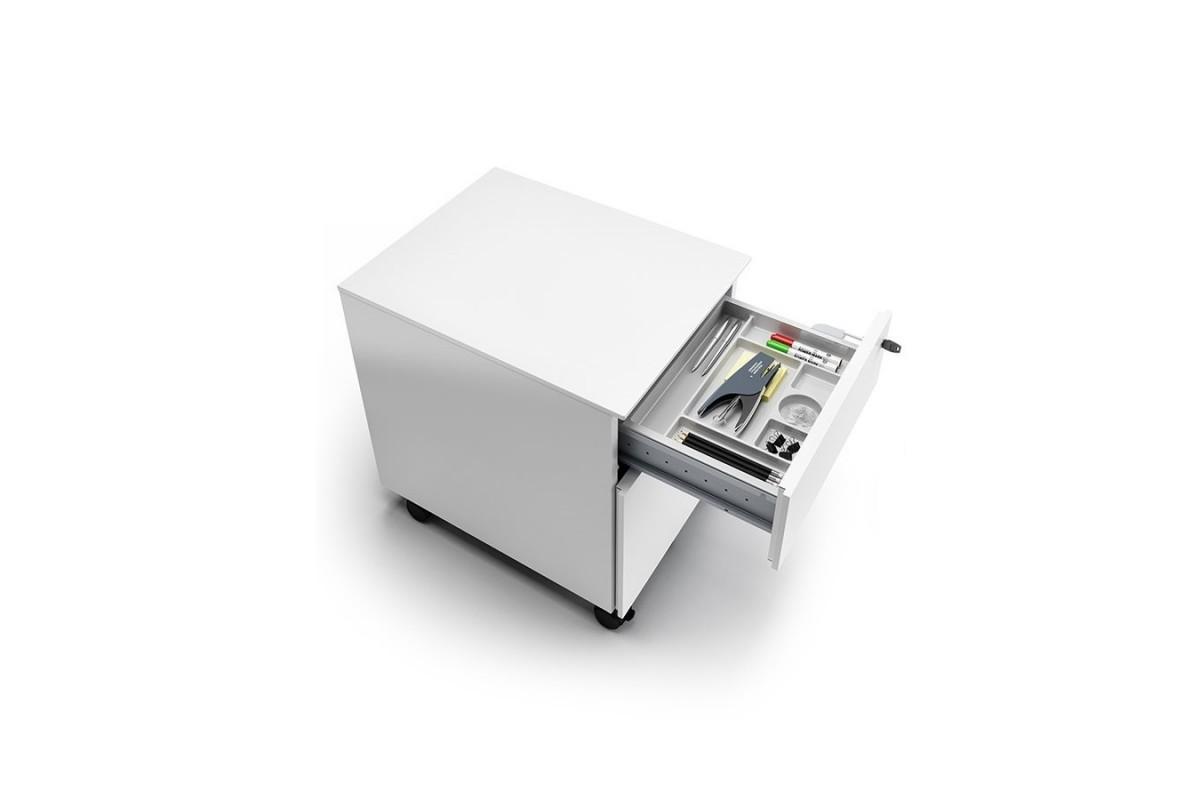 Cassettiera tre cassetti su ruote cassettiere e librerie ufficio